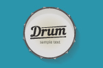 Drum Sticker Printing